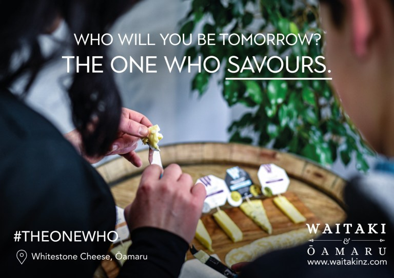 The One Who - Whitestone Cheese